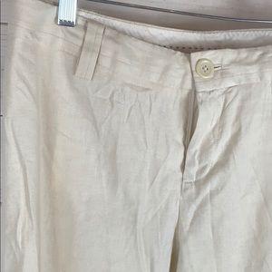 Banana Republic Pants - Banana Republic~ Linen Look a like trousers.